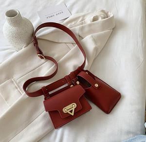 Ins Women Chest Bag Girls Waist Bag Versatile Fashion One Shoulder Phone Bags Crossbody Lady Waist