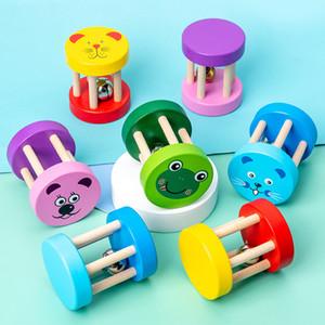 나무 벨 장난감 유아 음악 교육 장난감