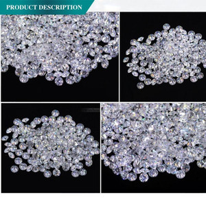 AEAW 1.8mm Total 1 CTW carat F Color Certified Lab Moissanite Diamond Loose Bead Test Positive Fine Jewelry1