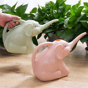 Sevimli Benzersiz Fil Buzağı Şekli Uzun Ağız Çiçek Sulama Can Garden Bitkiler Yağmurlama Pot Gadget Garden 3 Colours ViWP # Malzemeleri