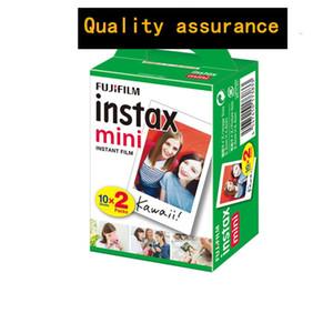 10-200 hojas de Fuji Fujifilm Instax Mini 9 8 Blanca Edge Films color de la cámara Fims Para instax