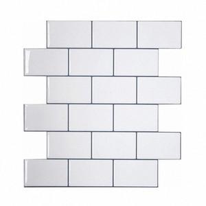 Vividtiles Thicker White Subway Tiles Peel And Stick Wall Tiles Stick On Kitchen Backsplash Sticker 1 Sheet vgQi#