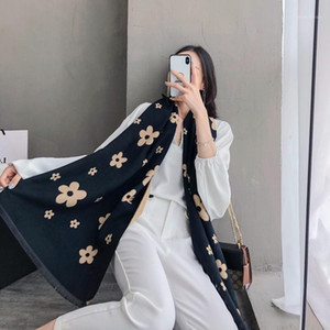 2020 Women Cashmere Scarf Winter Warm Shawls And Wraps New Lady Print Thick Blanket Neck Scarves Bufanda1