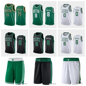 BostonCelticsjersey 8 KembaWalker 0 JaysonTatum 33 LarryBird Jaylen 7 Brown 20 Hayward Basketball Jerseys 1015