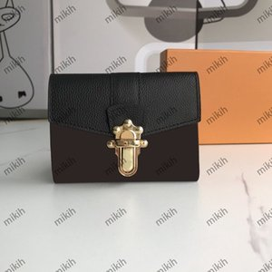 Fashion womens wallets trend high-end color matching design classic short holders casual high-quality top Ladies purse