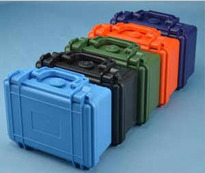 215X166X92MM ABS Tool case toolbox Impact resistant sealed waterproof equipment camera case with pre-cut foam shipping free HUci#
