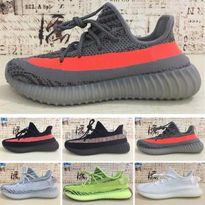 Yeezy Boost 350 380 500 700 Scarpe autentiche Miglior V2 nero Kanye West sport per gli uomini le donne GID Glow In The Dark EH5360 Argilla Burro scarpe da tennis Taglia 5-12 C78