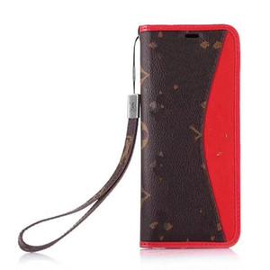 Flip Cüzdan Telefon Kılıfı Için iPhone XS XR X Samsung S9 S10 Artı Lüks PU Deri Arka Kılıf Kapak Kredi Kartı Yuvaları ile