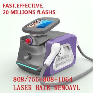 2020 диодный лазер для удаления волос машины для безопасности Без боли Новые 808 NM Удаление волос Постоянный 808 NM Диод Александрит Лазер