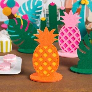 Tropical Partido Flamingo Cacto Coco Tree Centerpiece Decoração Aniversário Verão Verão Decorações De Partido Havaiana1