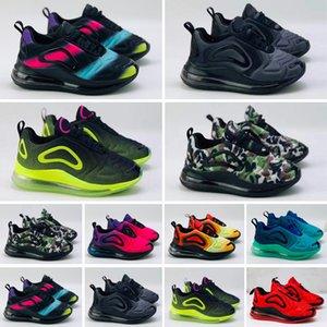720 New Kids Boy Girl Дизайнерская обувь Baby Parent Дети Черный Красный Белый Синий 27 кроссовки кроссовки Открытый 72 обувь EUR28-35