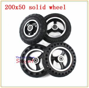 "(8 ""x 2"") 전기 가스 스쿠터 전기 스쿠터 휠체어 휠 8 인치 폭발 방지 타이어 휠에 맞는 200x50 솔리드 타이어"