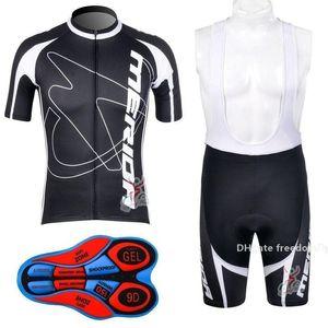 2020 Горячие продажи Merida задействуя Джерси Set Hot Sale Merida Cycle одежда лето с коротким рукавом Cycle Джерси Pro Team Велоспорт Bib Shorts Cic