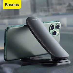 Baseus Car Centre Console Phone Mount Adjustable Universal Dashboard Mobile Phone Holder In Car Phone Bracket For iPhone Xiaomi