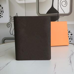 2021 새로운 럭셔리 여성 디자이너 노트북 케이스 신용 카드 홀더 확인 홀더 메모장 홀더 여행 일기 문구 고급 동전 지갑