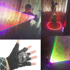 RGB Laser Whirlwind Multicolour Laser Vortex Man stage supplies LED Gloves Nightclub Performances