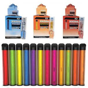 XXL VAPE DESECHABLE VAPE 2000 Puffs Dispositivo precargado Pods Local Desechable Vape Pluma Desechable E Cigarrillos