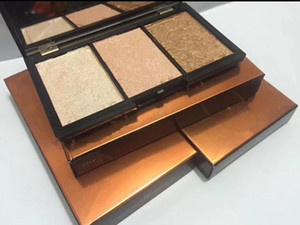 Classic Hot makeup palette 3 colors highlighter palette 4 style Bronzers & Highlighters Blush Illuminator High quality