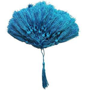 100pcs lot 32 couleurs soik franges de soie pompom garniture décoratifs décoratifs pour cousures de rideaux vêtements maison décoration accessoires h jllzke