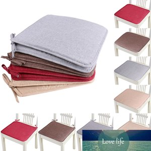 1pc Non-slip Sofa Seat Cushion Solid Color Square Seat Pad Chair Cushion Soft Pillow For Padchair Chairs 40x40cm