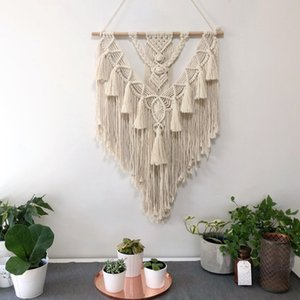 New simple B & B decoration handicraft woven tapestry Nordic style Bohemian tapestry popular in Amazon