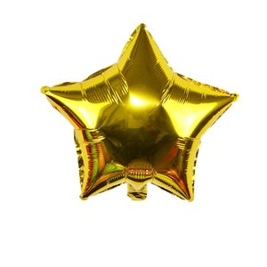 5pcs Star Aluminum Foil Balloons For Wedding Birthday Party Decorations Kids Baby Shower Favors Christmas Supplies Air Balloons jllKWn