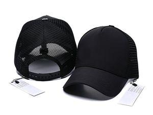 2019 Nueva marca Mens Designer Sombreros de béisbol ajustable Lady Fashion Hat Summer Trucker Casquette Mujer Ocio Ocio Dropshipping