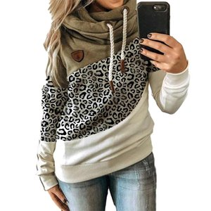 2020 womens clothes Autumn winter print three-color matching cap and long sleeve hoodie womens dresses