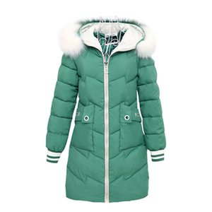 Women Autumn Winter Jacket Parkas New splice Hooded Medium Long Outerwear Slim Plus Size 3XL Female Down Cotton Jacket 201202