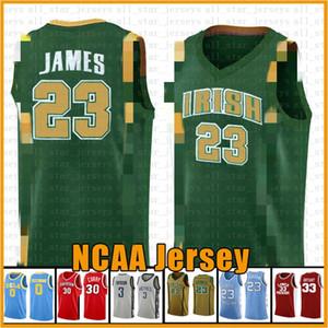 23 NCAA Harden Basketball Jersey Arizona University State Bethel Irish High School Jerseys 2 Leonard 3 Wade 11 Irving 30 Curry