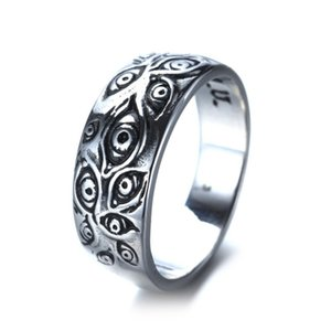 Runtao men's accessories tail jewelry God's eye titanium steel ring