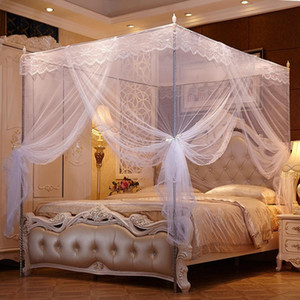 Hung Dome Mosquito Net Newly Round Lace High Density Princess Bed Nets Curtain Dome Princess Queen Canopy Mosquito Nets VT147