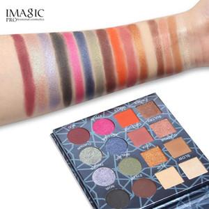 IMAGIC Professional Shimmer Matte Eyeshadow Palette 16 Colors Natural Eye Shadow makeup Waterproof Lasting Cosmetic maquiagem