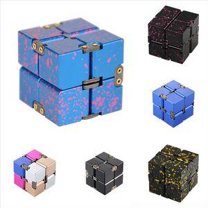 WXVRJ New Linkage 2x2 Gear Gear Crazy Novità Decompressione Decompressione Cubo di Rubik Tip Gyroscope Rubik's Cube Decompressione Infinito alluminio