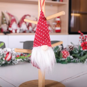 Christmas Swedish Santa Gnome Plush Doll Ornaments Handmade Elf Toy Holiday Home Party Decor Christmas Decorations