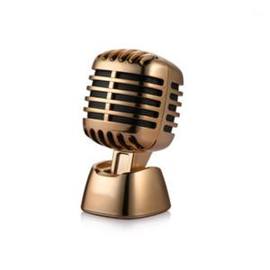 Car Ornament Fashion Microphones Stlye Dashboard Perfume Seat Air Freshener Auto Perfume Diffuser Interior Decor Car Accessories1