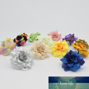 Eco Friendly 100 Pieces 1 .77 Inches Artificial Silk Small Rose Flower Heads Home Garden Decor Party & Wedding Hair Clip Favors Afh0047