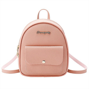 Women Backpack Shoulders Small Mini Backpack Letter Purse Mobile Phone Bags for Women Travel School Bags for Teenage Girls 5$
