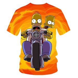 Erkekler Kadınlar Anime Simpsons Graffiti Tişörtlü Yeni Moda Hoodies Kazak Unisex Streetwear jllcie ly_bags yazdır 3d