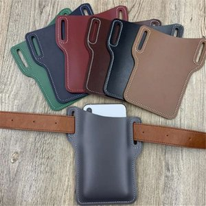 strap Sports with outdoor waist leather bag waterproof mobile phone cover