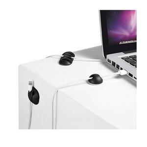 Кабельный Организатор Sile USB Кабель Надерн Рабочий стол Оборудование для Управления Клипы Кабельное Держатель для мыши Клавиатура Наверное QYLVML