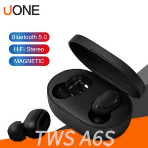 Bluetooth Earphone TWS A6S Headphone Bluetooth 5.0 Wireless Earbuds Life Waterproof Bluetooth Headset with Mic for all Smart Phone