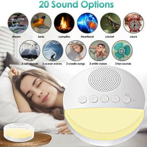 2020 Нового Маточной среда младенец Assisted сна Instrument Sleep Therapy Music Aid Белый шум машина USB аккумуляторной