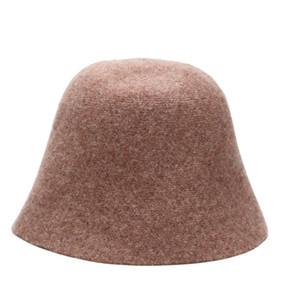 2021 Mode-Designer-Brief-Eimer-Klappmütze für Männer und Frauen Fisherman's Beach Sun-Visier Breiten-Hut-Folding-Bowler-Hut für WO