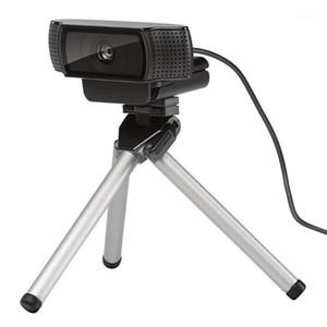 Webcam Tripod Extensível Liga de Alumínio Camera Tripé Retrátil Gorillapod para C930E C920 Pro C925E CAM1
