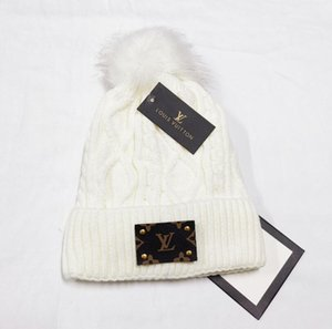 Mens Beanie Winter-Wolle-Hut neue Art und Weise der Frauen gestrickte verdicken Warm Beanie Mütze Cap