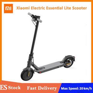 Xiaomi mi scooter elétrico essencial lite inteligente e scooter skate mini dobrável hoverboard longboard melhor presentes para amigos da família