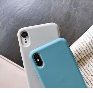 Sile Phone Case For Iphone 11 12 Pro Max Mini Luxury Soft Candy Cover For Iphone Iphone Xr X wmtUMX