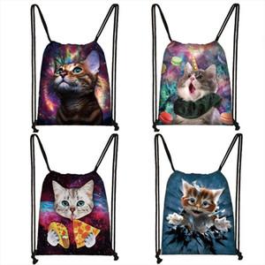 Cat Unicorn Backpack Teenager Girls Travel Bags Women Fashion Storage Bag Kids Bookbag Children School Backpack Female Shopping
