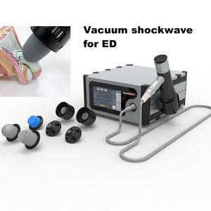 Vacuum Shockwave machine for ED erectile dysfunction   Electric penis massage therapy shock wave penile enlargement device